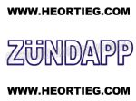 ZUNDAPP TANK AND FAIRING TRANSFER DECAL DZU20-2